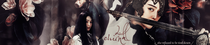china doll banner, created by starbuck. @ tda